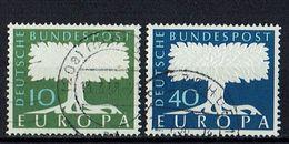 A100.092 // Deutschland 1957 // Mi. 268/269 O // Europa - 1957