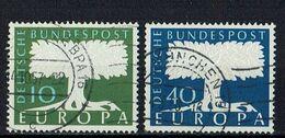 A100.091 // Deutschland 1957 // Mi. 268/269 O // Europa - 1957