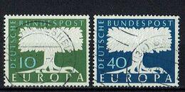 A100.090 // Deutschland 1957 // Mi. 268/269 O // Europa - 1957