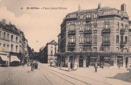 SAINT-GILLES, France , 00-10s ; Place Julien Dillens - Saint-Gilles