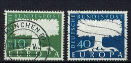A100.089 // Deutschland 1957 // Mi. 268/269 O // Europa - 1957