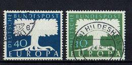 A100.088 // Deutschland 1957 // Mi. 268/269 O // Europa - 1957