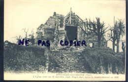 Boulogne La Grasse L'église Avec Ses 33 Marches Style Moyen Age Après Le Bombardement En 1918 - Altri Comuni