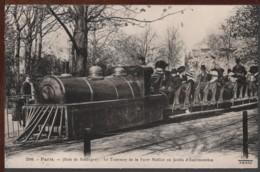 75 - PARIS - (Bois De Boulogne) - Le Tramway De La Porte Maillot Au Jardin D'Acclimatation - Transporte Público