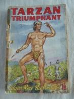 """""""Tarzan Triumphant"""" (n° 15) Editions Mark Goulden 1950 - Libros Antiguos Y De Colección"""