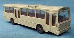 """Mercedes Linienbus """"Flughafen"""" Beige  -  Wiking 700 1:87 H0 - Autres"""