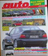 AUTO - N.1 - GENNAIO 1993 - ANNO IX - CITROEN ZX 1.9 TURBO - ROVER 218 GSD TURBO - ALFA ROMEO RZ - PEUGEOT 106 XN - Motori