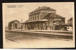Bourg-Léopold / Station - Gare / Leopoldsburg - Statie - Edit. P.I.B. - 2 Scans - Leopoldsburg