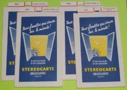 4 STÉRÉOCARTES - Vues En  RELIEF Et En COULEUR Pour Boitier Lumineux Stéréoscopique - Le Petit Poucet - 1963 - Other Collections