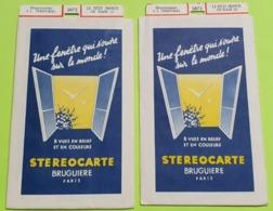 2 STÉRÉOCARTES - Vues En  RELIEF Et En COULEUR Pour Boitier Lumineux Stéréoscopique - Le Petit Prince De Siam - 1963 - Other Collections