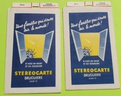 2 STÉRÉOCARTES - Vues En  RELIEF Et En COULEUR Pour Boitier Lumineux Stéréoscopique - Cirque Bouglione - 1963 - Other Collections