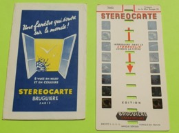 1 STÉRÉOCARTE - Vues En  RELIEF Et En COULEUR Pour Boitier Lumineux Stéréoscopique - Trésors De La Mer Rouge N° 2 - 1963 - Other Collections