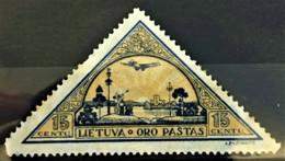 LITHUANIA 1932 - MLH - Sc# C49 - 15c - Lithuania