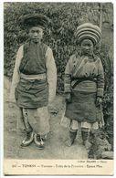 TONKIN ( VIET NAM ) Yunnam Tribu De La Frontière Epoux Méo * Oblitération Hanoi Tonkin 1930 - Vietnam