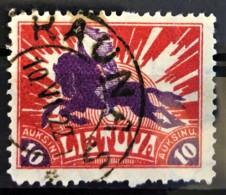 LITHUANIA 1921/22 - Canceled - Sc# 111 - 10a - Lithuania