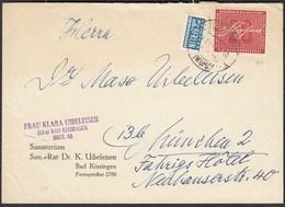 BRD Bund 1956 Einzelfrankatur 20 Pfg. Heinrich Von Stephan Mi. 227   (23528 - [7] West-Duitsland