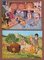 Lot 2 Cards - Greece Grece, Greek Mythology, Apollo, Diogenis - Griechenland