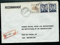 Doc. De WAINAGE ( FARCIENNES ) - A A - Du 09/07/73 En Rec. ( E ) - Marcophilie