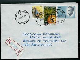 Doc. De WARSAGE - A - ( 4608 ) Du 10/02/93 En Rec. ( E ) - Marcophilie