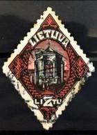 LITHUANIA 1923 - Canceled - Sc# 186 - 2l - Lithuania