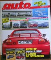 AUTO - N.2 - FEBBRAIO 1993 - ANNO IX - FORD ESCORT 2.0 RS 16V - AUTOBIANCHI Y10 ELITE - PONTIAC TRANS SPORT GT - Motori