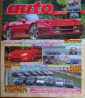 AUTO - N.3 - MARZO 1993 - ANNO IX - AUDI 80 2.0 E AVANT - MERCEDES 200 CE 16V  - OPEL FRONTERA 2.0 SPORT - Motori
