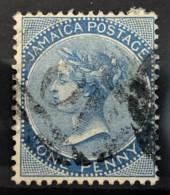 JAMAICA 1870/71 - Canceled - Sc# 7 - 1d - Jamaïque (...-1961)