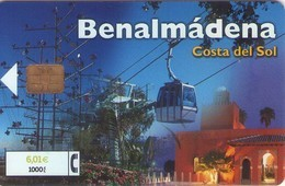 TARJETA TELEFONICA DE ESPAÑA USADA. 09.01 (437). BENALMADENA. - Spagna