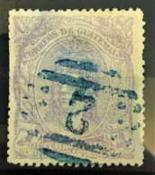 GUATEMALA 1878 - Canceled - Sc# 13 - 4r - Guatemala