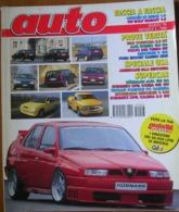 AUTO - N.3 - MARZO 1994 - ANNO X - SEAT CORDOBA 2.0 GT - MERCEDES C180 - ALFA ROMEO 164 Q4 - VOLVO 850 T5  2.0 16V - Motori