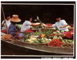 (H 16) Thailand - Floating Market - Mercati