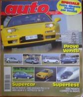 AUTO - N.4 - APRILE - 1996 - ANNO XII - LANCIA Y 1.2 LS - HONDA NSX TARGA - RENAULT MEGANE 1.6 RT - PEUGEOT 406 ST - Motori