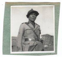 CLB182 - FOTO MILITARE WAR COLONIALE DIVISA 1930 CIRCA NON IDENTIFICATA CM 8,7 X CM 9,4 - War, Military
