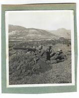 CLB184 - FOTO MILITARE SOLDATI WAR COLONIALE DIVISA 1930 CIRCA NON IDENTIFICATA CM 8,7 X CM 9,4 - War, Military