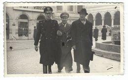 CLB191 - FOTO MILITARE SOLDATI WAR COLONIALE DIVISA 1938 UDINE NON IDENTIFICATA CM 13,7 X CM 8,4 - War, Military