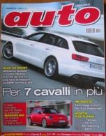 AUTO - N.9 - SETTEMBRE - 2011 - ANNO XXVII - CITROEN DS4 - MERCEDES C250 CDI COUPE' - JEEP COMPASS 2.2 CRDI 2WD - Motori