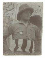 CLB206 - FOTO MILITARE SOLDATI WAR COLONIALE DIVISA 1924 CIRCA NON IDENTIFICATA CM 6 X 8,2 DEDICA ALLA MAMMA - War, Military