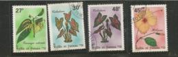 487/88 Et  493/94     Flore       (326) - Wallis Und Futuna