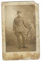 CLB237 - FOTO MILITARE SOLDATI WAR COLONIALE DIVISA 1930 CIRCA CM 13,5 X 8,8 PROF FEDERICO SOLDATI SPOLETO - War, Military
