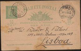 Portugal Inteiro Postal Stationery - Carimbo Publicitário Pharmacia Farmacia Central - Ilha Madeira Funchal - Publicity - Postal Stationery
