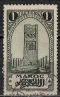 MAROC      N°  YVERT :    98   ( 8 )    OBLITERE       (OB 8/15 ) - Marocco (1891-1956)