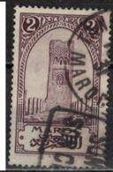 MAROC      N°  YVERT :    99  (1)  OBLITERE       (OB 8/15 ) - Marocco (1891-1956)