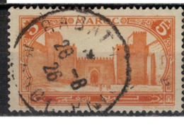 MAROC      N°  YVERT :   101   ( 8 )          OBLITERE       (OB 8/15 ) - Marocco (1891-1956)