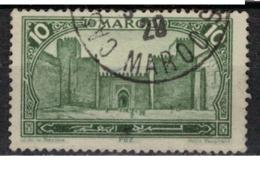 MAROC      N°  YVERT :   102         OBLITERE       (OB 8/15 ) - Marocco (1891-1956)