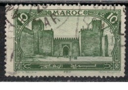 MAROC      N°  YVERT :   102    ( 2 )     OBLITERE       (OB 8/15 ) - Marocco (1891-1956)
