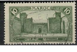 MAROC      N°  YVERT :   102    ( 3 )     OBLITERE       (OB 8/15 ) - Marocco (1891-1956)