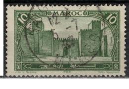 MAROC      N°  YVERT :   102    ( 4 )     OBLITERE       (OB 8/15 ) - Marocco (1891-1956)