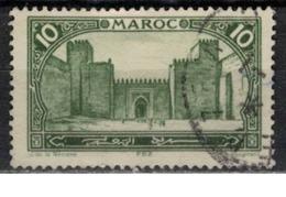 MAROC      N°  YVERT :   102    ( 5 )     OBLITERE       (OB 8/15 ) - Marocco (1891-1956)