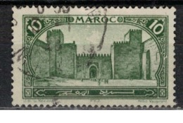 MAROC      N°  YVERT :   102    ( 6 )     OBLITERE       (OB 8/15 ) - Marocco (1891-1956)