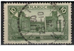 MAROC      N°  YVERT :   102    ( 8 )     OBLITERE       (OB 8/15 ) - Marocco (1891-1956)